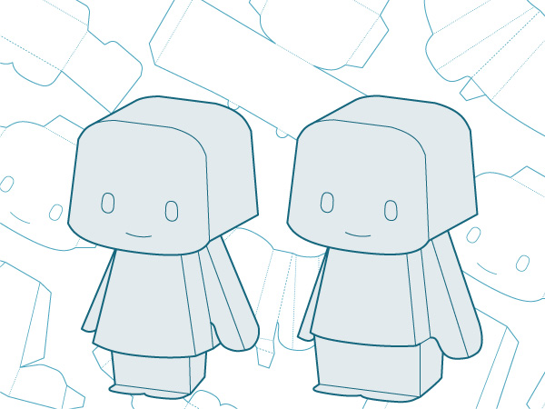 Let's make papertoys!